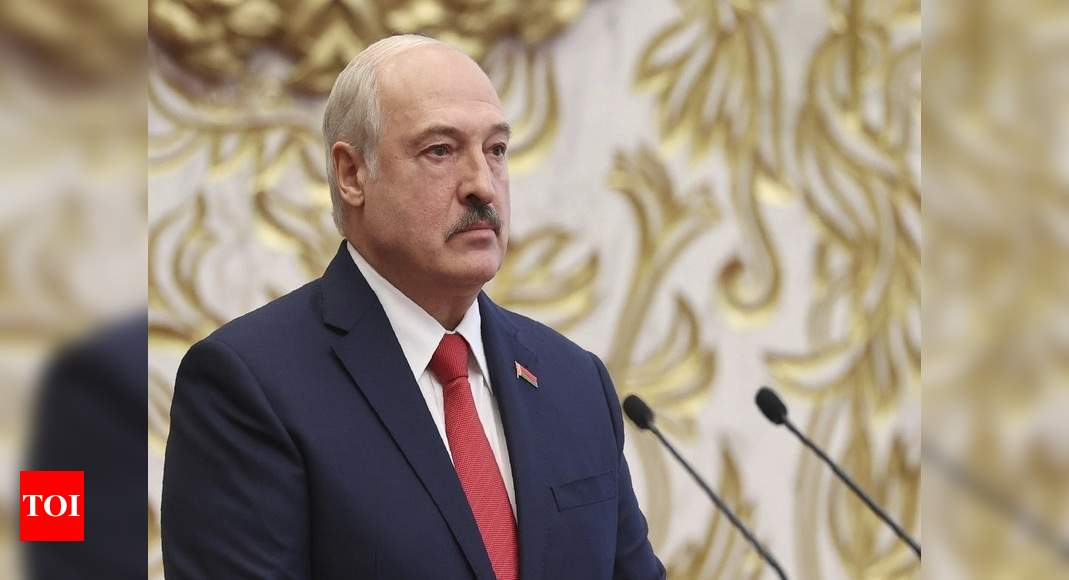 EU says Lukashenko is not legitimate Belarus president
