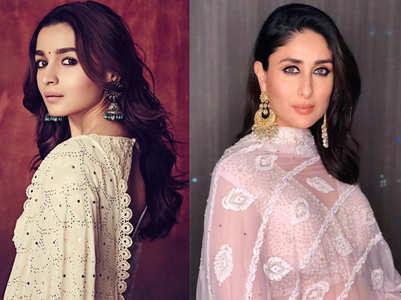 5 stylish ways to wear chikankari outfits like Bollywood divas