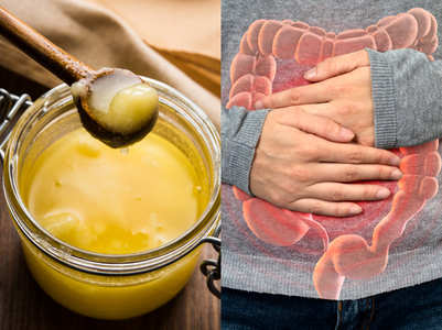 Having ghee with water can ease constipation. Here's how