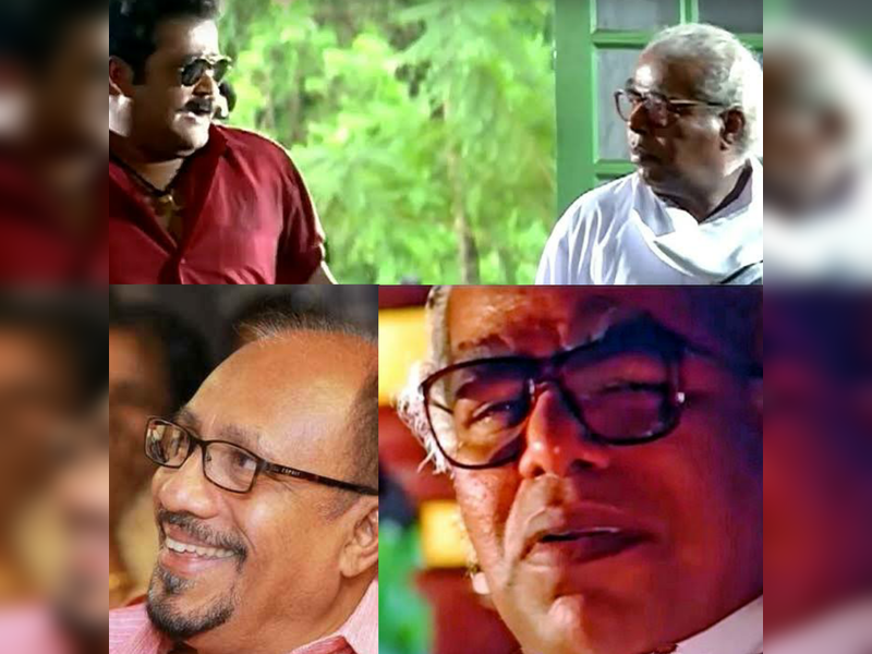 Bhadran: Today's films don't need a versatile actor like Thilakan