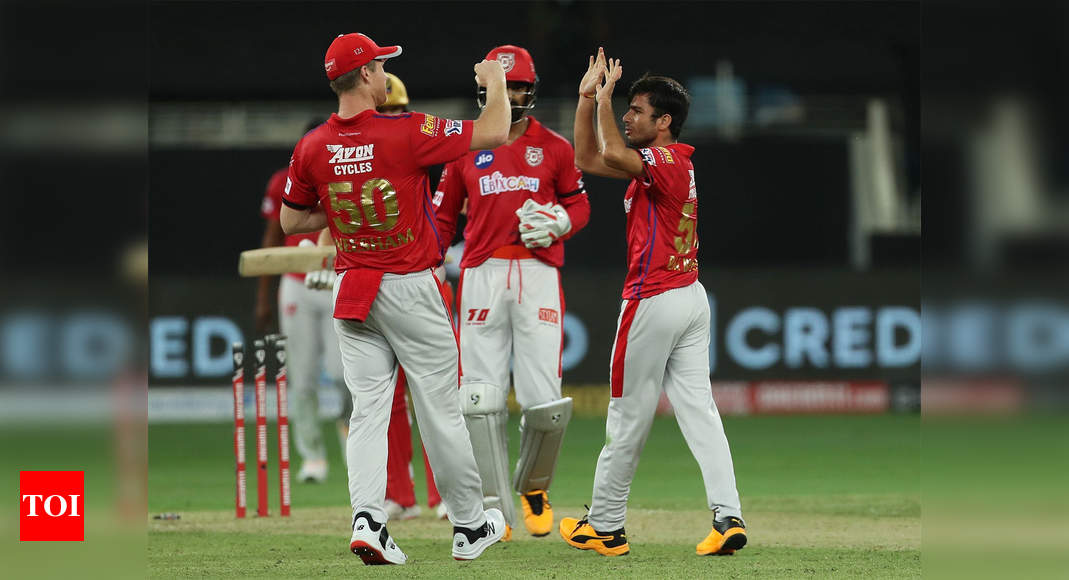 Kxip Vs Rcb Highlights Ipl 2020 Kings Xi Punjab Crush Royal Challengers Bangalore By 97 Runs Cricket News Times Of India