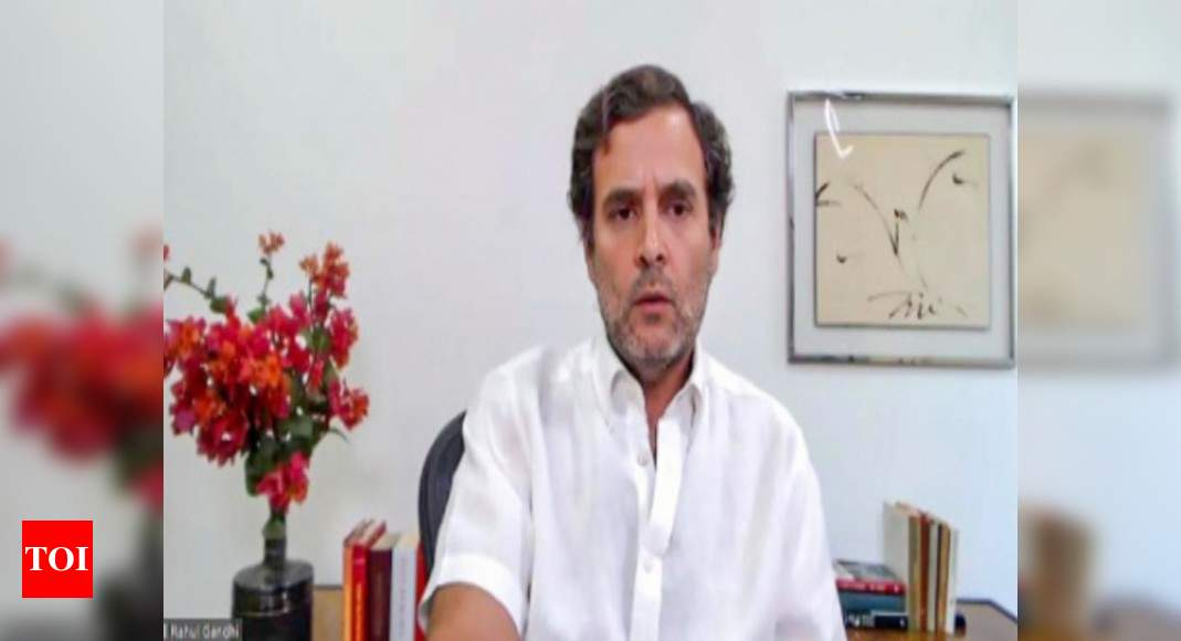 After farmers, govt now going after workers, says Rahul criticising labour code bills | India News – Times of India