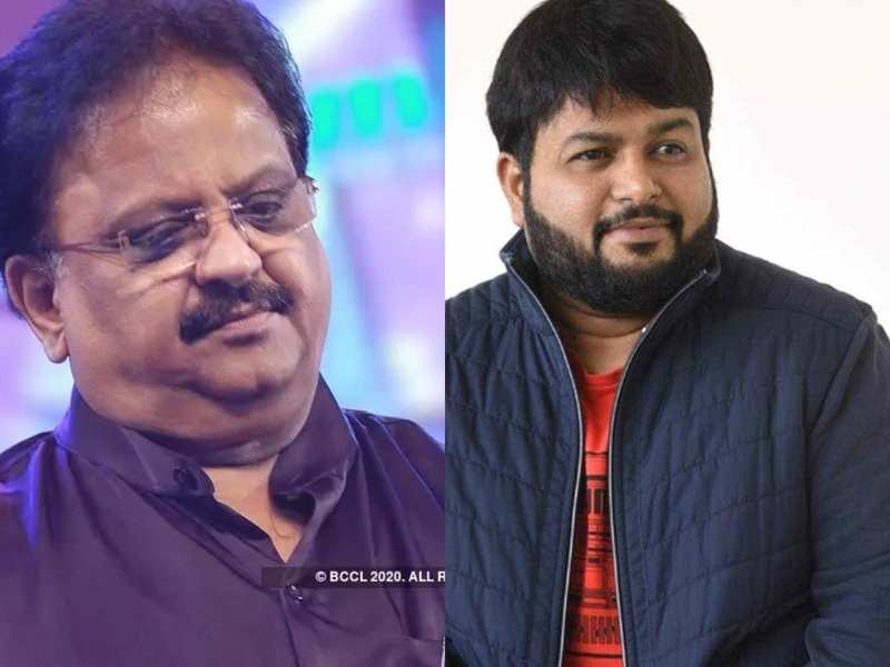 Thaman in tears after seeing throwback video of SPB