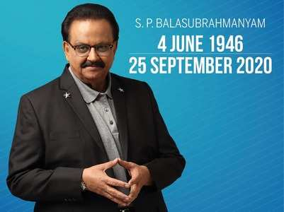 SP Balasubrahmanyam dies; his youthful voice to live in more than 40,000 songs