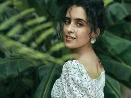 Sanya Malhotra wore her own clothes for a photoshoot