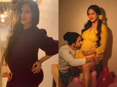 Puja Banerjee's maternity style is all glam
