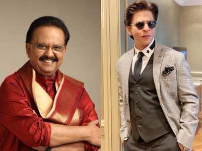 SRK: Will miss SP Balasubrahmanyam's voice