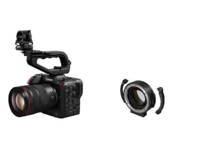 Canon announces EOS C70 camera with 4K video recording along with an RF mount & mount adapter in India