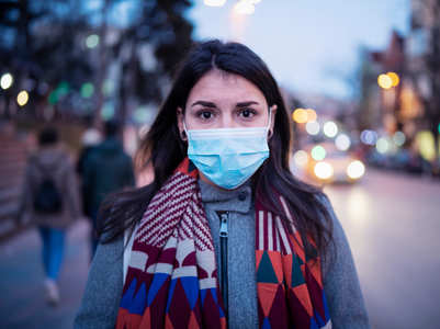 Why are some people getting a sore throat from wearing a mask?