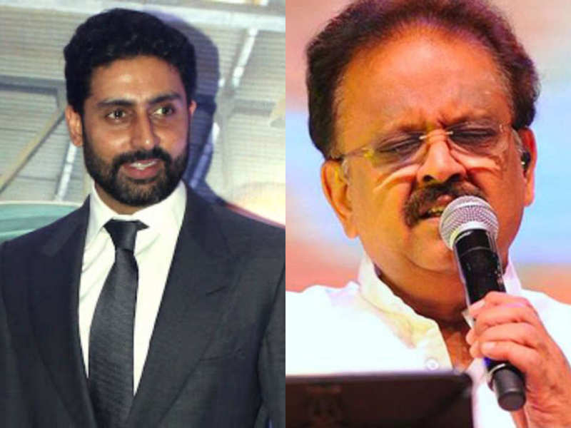 """Abhishek Bachchan mourns the demise of SP Balasubrahmanyam; says, """"A doyen of our industry"""""""