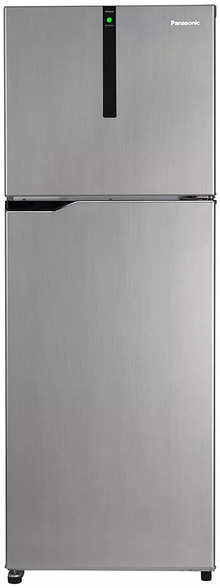 Panasonic NR-BG343VGG3 Econavi 336 L 3 Star 6-Stage Inverter Frost-Free Double Door Refrigerator (Glitter Grey, Powered by Artificial Intelligence)