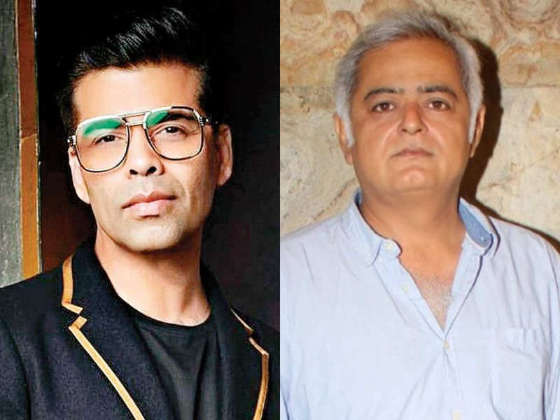 Hansal Mehta comes out in support of Karan Johar's 'drug party' allegations: Lack of unity and fear of persecution has rendered us looking like cowards