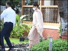 Deepika Padukone leaves Narcotics Control Bureau's office after 5 hours of interrogation; see pictures
