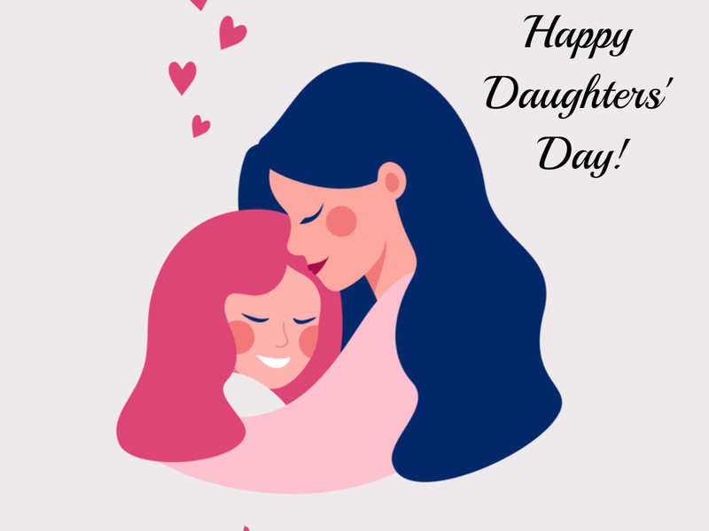 Happy Daughters Day 2020: Wishes, Messages, Quotes, Images, Facebook &  Whatsapp status - Times of India