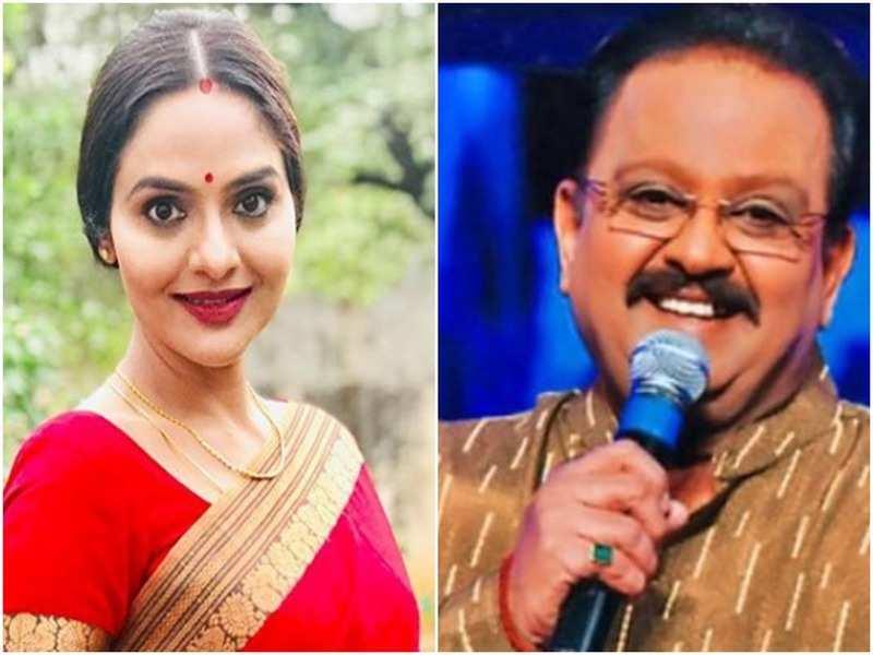 Madhoo Shah recalls her memories of the singer SP Balasubrahmanyam