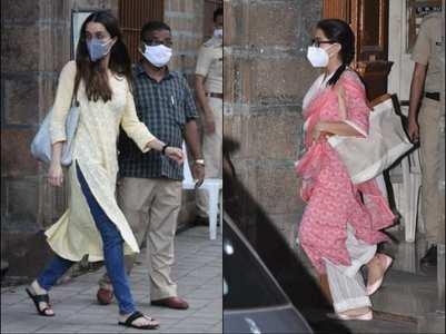 SSR case: Sara-Shraddha leave NCB office