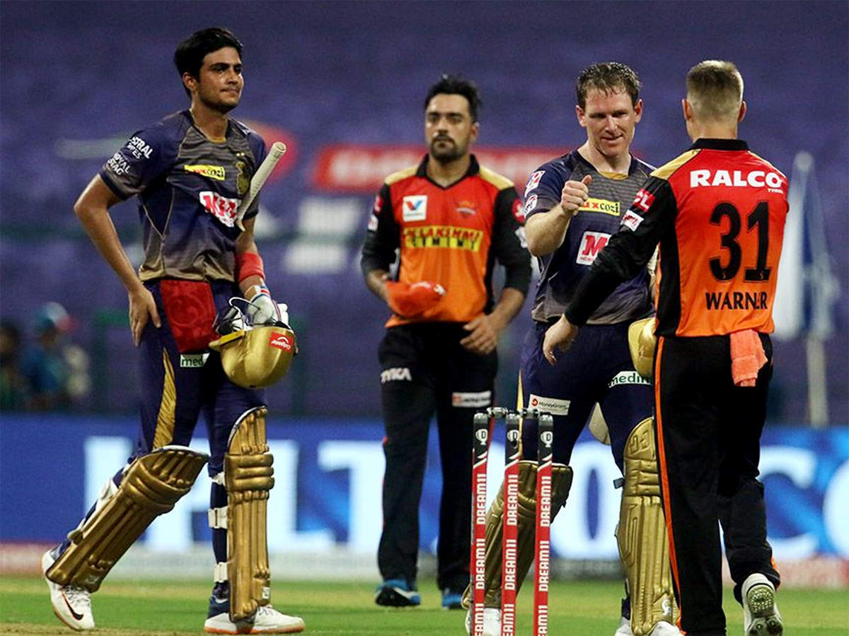 KKR vs SRH: Young Gill shines in KKR's seven-wicket win over SRH | Cricket News - Times of India