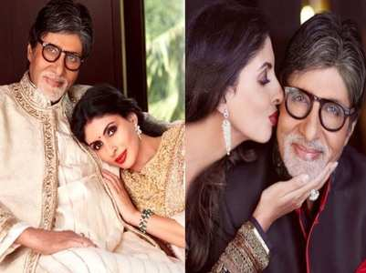Amitabh extends wishes on Daughter's Day