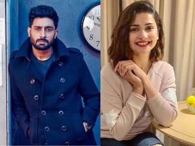 Abhishek defends Prachi Desai's talent