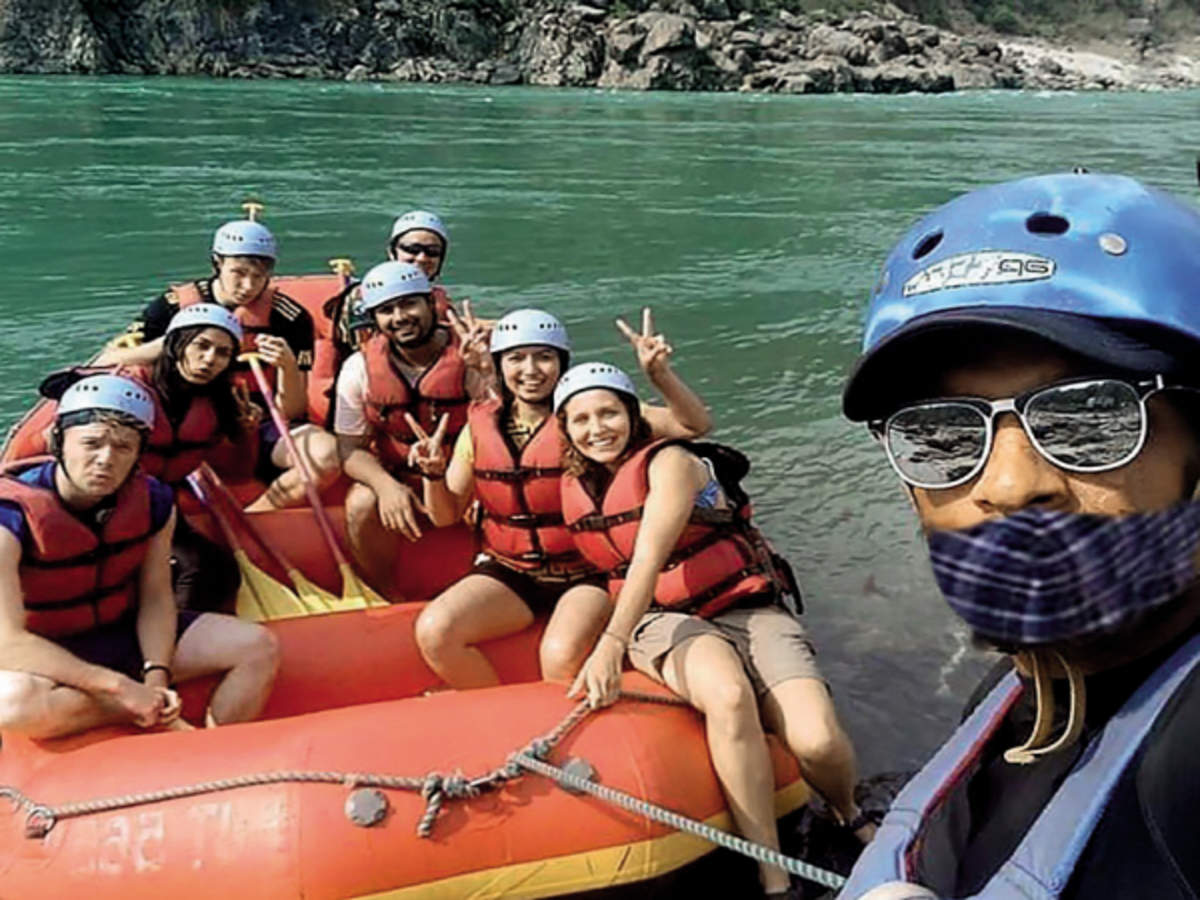 River rafting returns to Uttarakhand after 6 months | India News - Times of  India