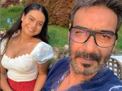 Ajay's sweet daughter's day note for Nysa