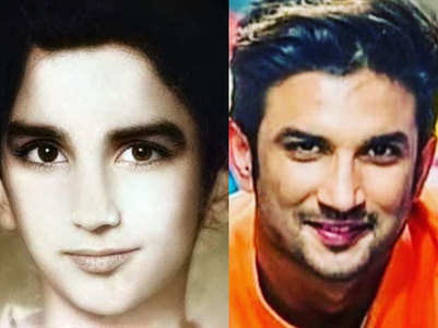 Shweta shares rare childhood pic of Sushant