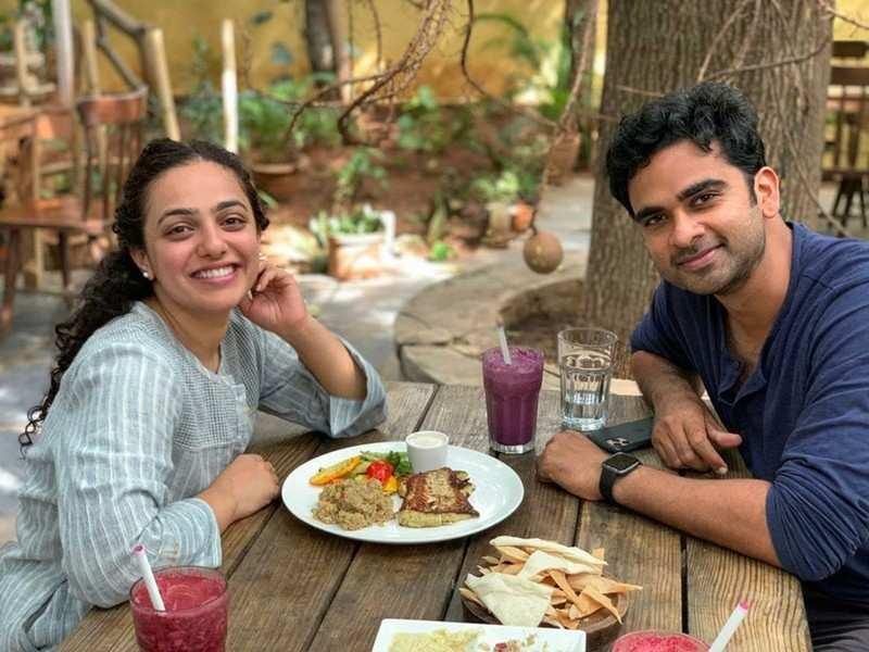 Nithya Menen and Ashok Selvan catch up over a Sunday brunch
