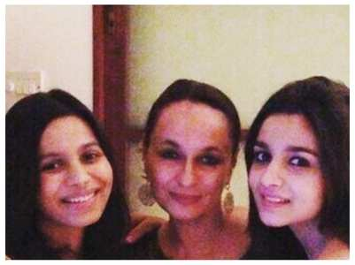 Soni's sweet daughter's day post for Alia