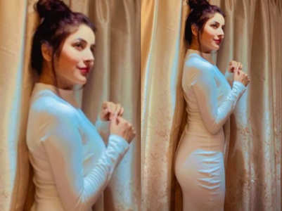 Shehnaz's latest pic is all about glamour
