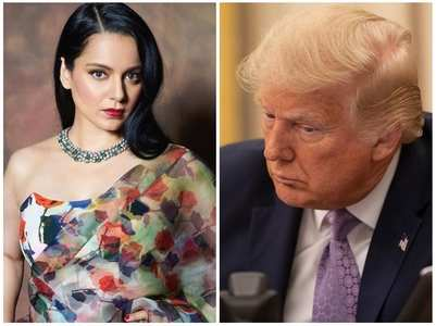 Kangana on Trump's tweet against Biden