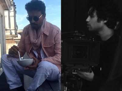 Babil pens an emotional note for Irrfan