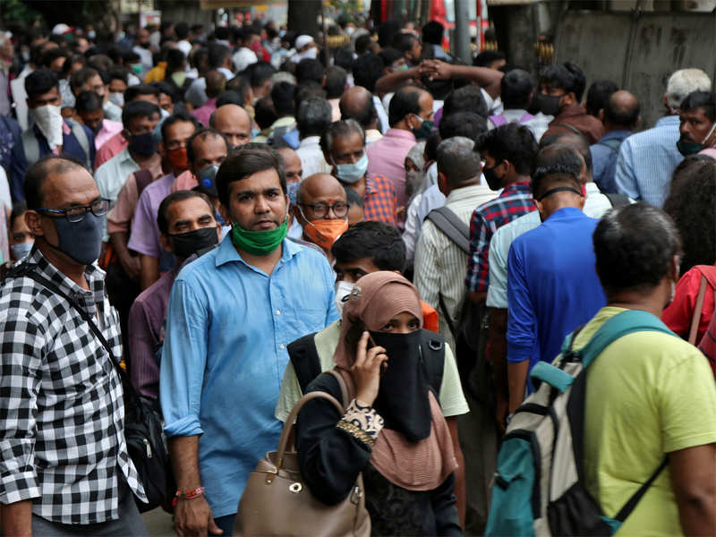 India's aims of achieving herd immunity look bleaker, with the country not even hitting it's infection peak - according to the sero survey - it would be hard to pin a date on the end of the pandemic for India.