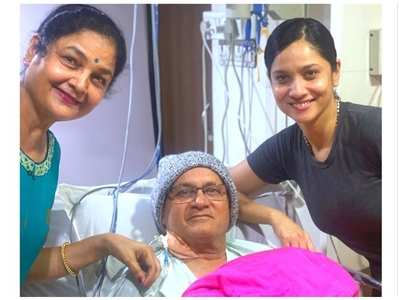 Ankita prays for her father's recovery