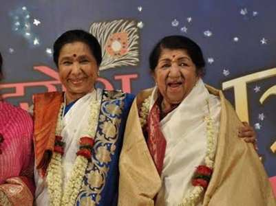 Pic: Asha's birthday wish for didi Lata