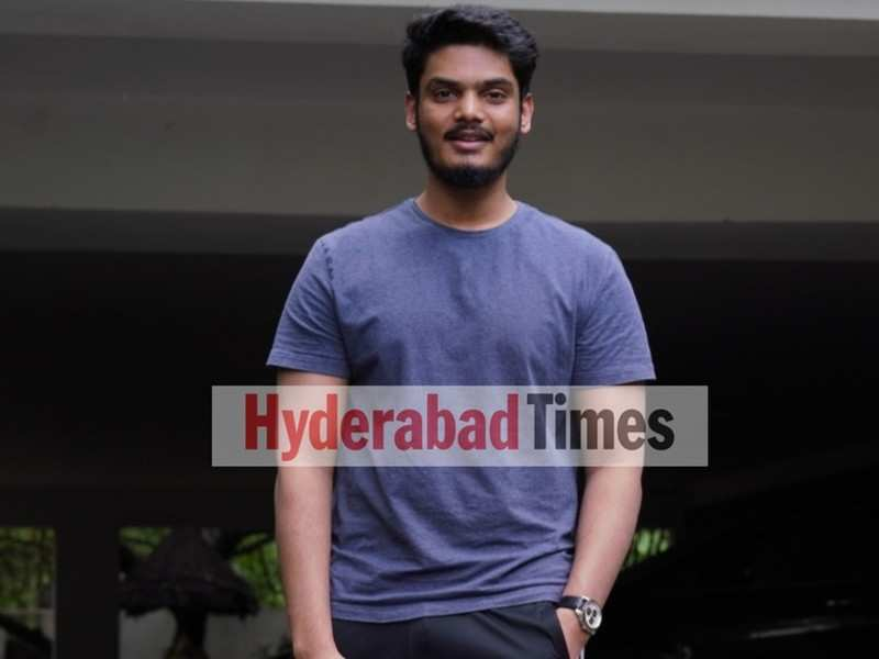 Spotted: Romantic actor Akash Puri sporting casuals in the city