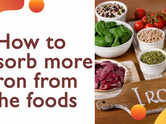 How to absorb more iron from the foods