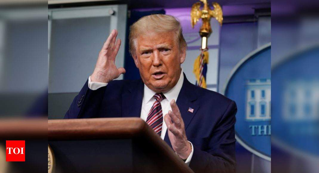 Trump trapped in taxes turmoil ahead of debate - Times of India