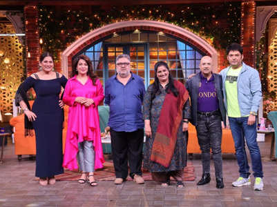 Cast of Hum Log on The Kapil Sharma Show