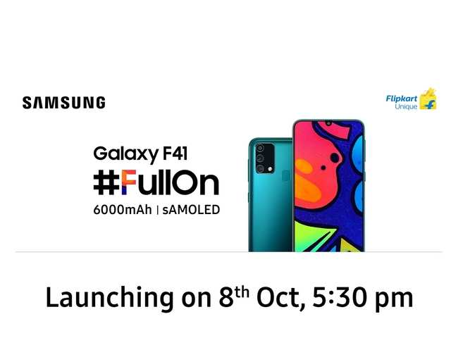 Samsung just made the biggest move in the smartphone market with the all-new Galaxy F series! The F41 is a #FullOn performer packed with the best features