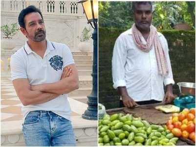 Anup on 'Balika...' director selling veggies