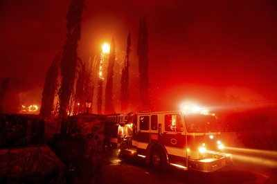 Evacuations Ordered in Santa Rosa as Multiple Wildfires Burn in California