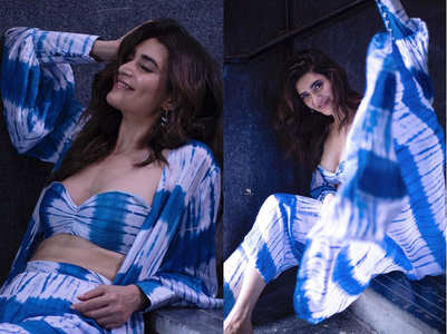 Karishma Tanna's 3-piece separates are too hot to miss