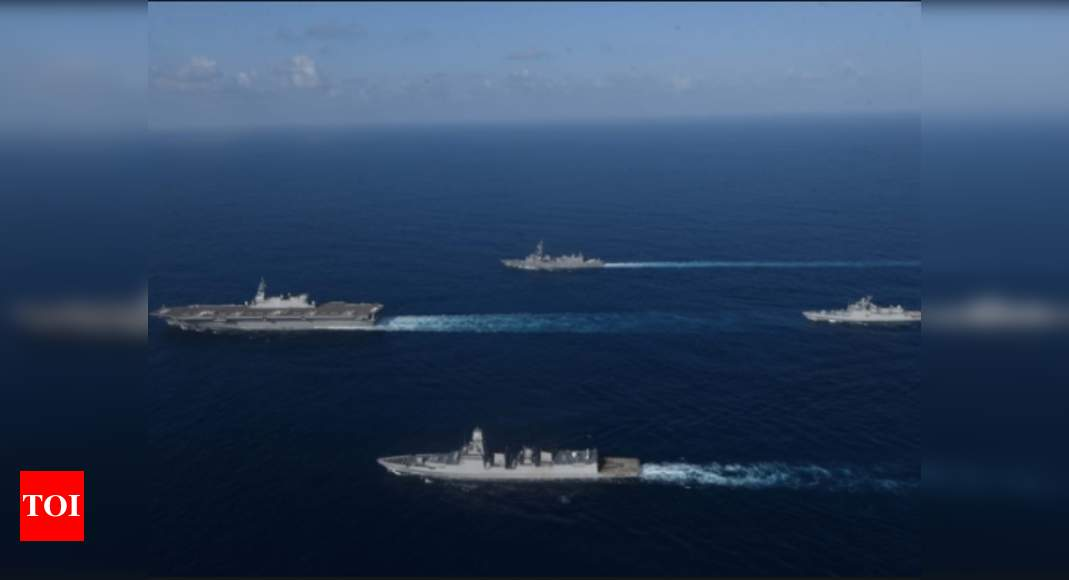 India, Japan naval exercise JIMEX-2020 concludes | India News – Times of India