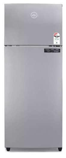 Godrej  RF EON 260C 35 RCIF ST RH 260 L  Double Door 3 Star Inverter Frost-Free  Refrigerator ( Steel Rush, 6 in 1 Convertible)