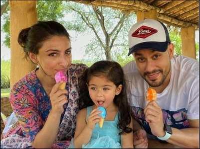 Soha shares cute birthday post for Inaaya