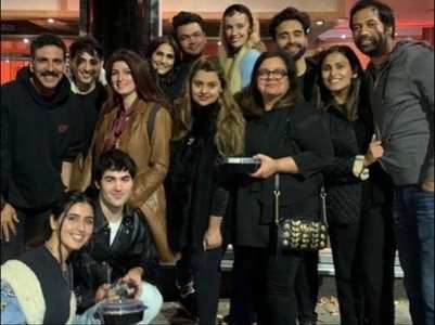 Pic: Akshay heads to London for 'Bell Bottom'