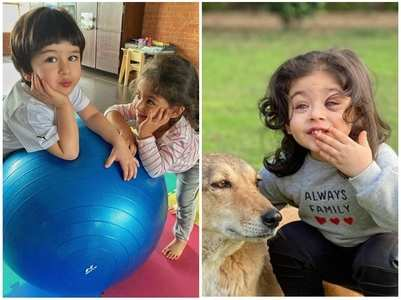 Adorable pics of Inaaya Naumi Kemmu