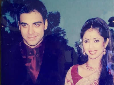 Ram Kapoor's throwback pic with wife Gautami