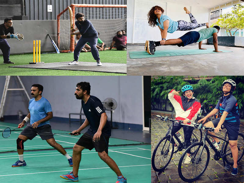 M-Town celebs combine fitness and friendship to tackle pandemic blues