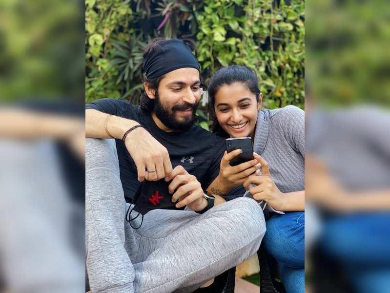 It's love in the air for Harish Kalyan and Priya Bhavani Shankar
